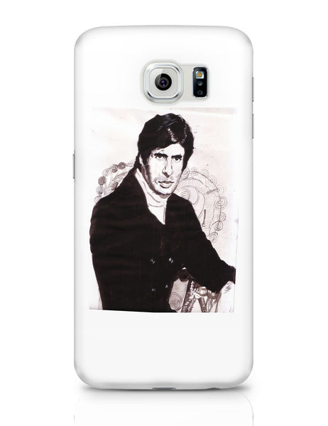 Samsung Galaxy S6 Covers | Amitabh Bachchan Painting Samsung Galaxy S6 Covers Online India