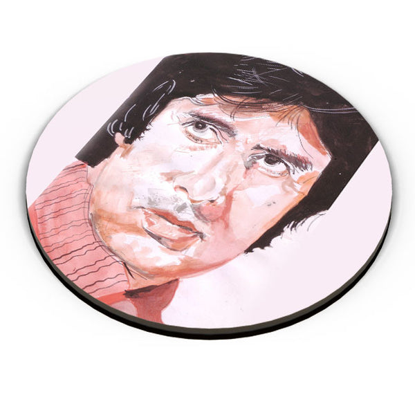 PosterGuy | Amitabh Bachchan Painting Fridge Magnet Online India by HeartAtArt