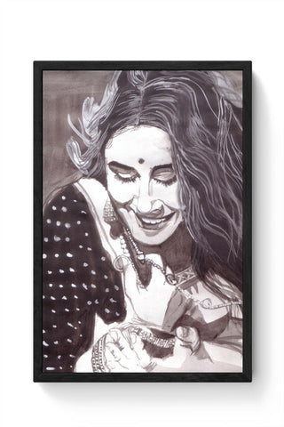 Framed Posters Online India | Vidya Balan Framed Poster Online India