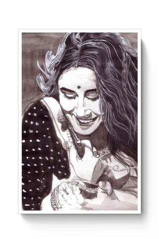 Posters Online | Vidya Balan Poster Online India | Designed by: HeartAtArt