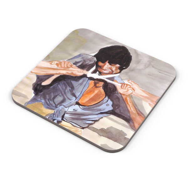 Buy Coasters Online | Amitabh Bachchan Angry Painting Coaster Online India | PosterGuy.in