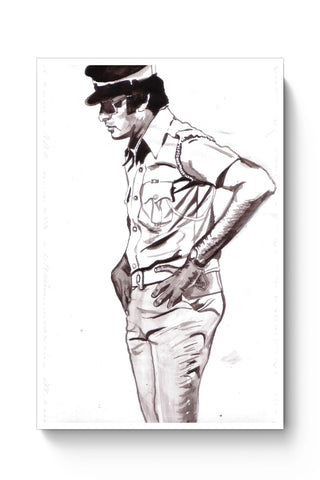 Posters Online | Amitabh Bachan (Vijay) Painting Poster Online India | Designed by: HeartAtArt