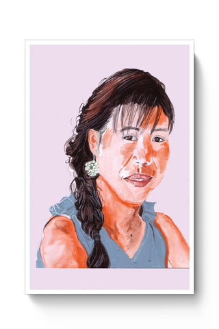 Posters Online | Mary Kom Painting Poster Online India | Designed by: HeartAtArt