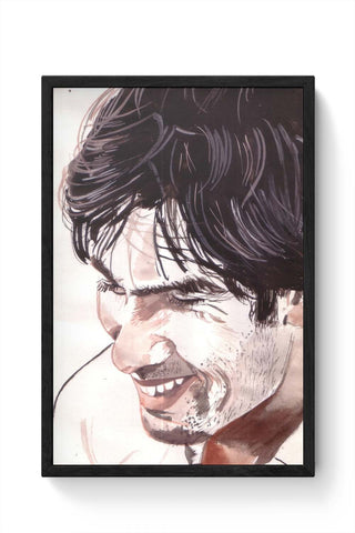 Framed Posters Online India | Shahid Kapoor Bollywood Painting Framed Poster Online India