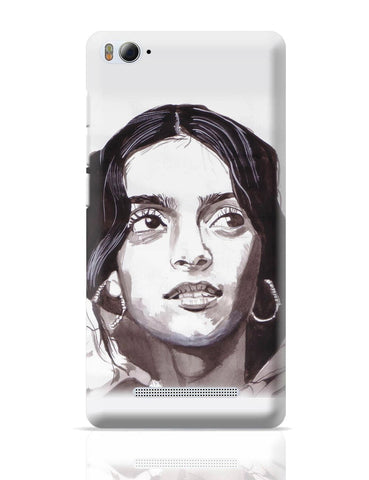 Xiaomi Mi 4i Covers | Sonam Kapoor Bollywood Painting Xiaomi Mi 4i Cover Online India