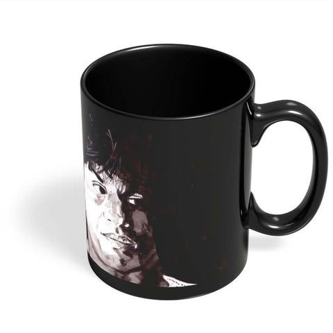 Coffee Mugs Online | Shahrukh Khan Bollywood Painting Black Coffee Mug Online India