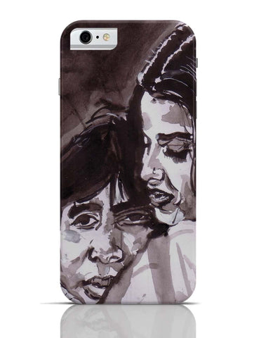 iPhone 6/6S Covers & Cases | Amitabh Bachan And Rekha Bollywood Painting iPhone 6 Case Online India