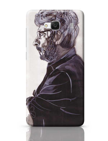 Sanjay Leela Bhansali is the man in black Redmi 2 / Redmi 2 Prime Covers Cases Online India