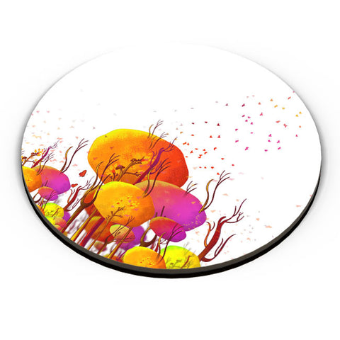 PosterGuy | Colorful Tree Art Illustration Fridge Magnet Online India by Shibu