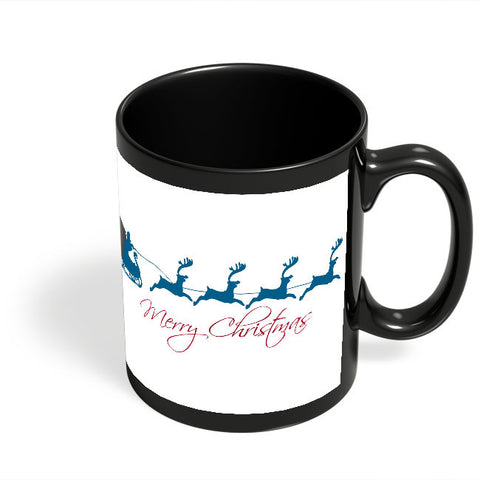Coffee Mugs Online | Christmas Black Coffee Mug Online India