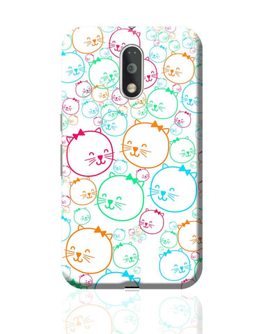 Cute Cat Moto G4 Plus Online India