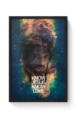 Jesus Framed Poster Online India