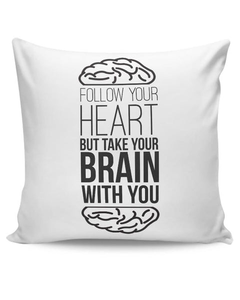 Follow Your Heart Cushion Cover Online India