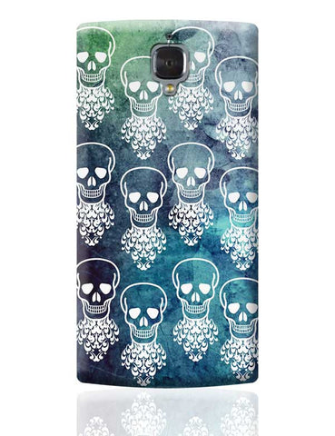Skull  OnePlus 3 Covers Cases Online India