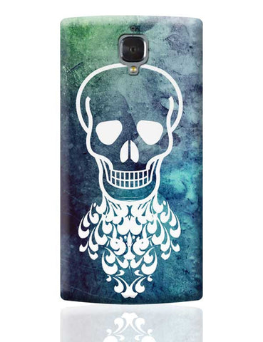 Skull Face OnePlus 3 Covers Cases Online India