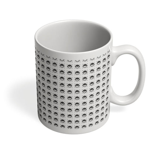 Coffee Mugs Online | Cushion Pattern Design Mug Online India