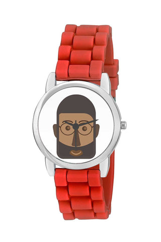 Kids Wrist Watch India | African Young Man Character Kids Wrist Watch Online India