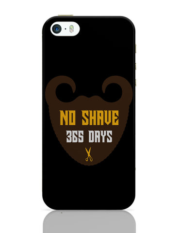 iPhone 5 / 5S Cases & Covers | Mustache Bearded Man No Shave iPhone 5 / 5S Case Online India