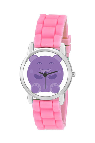 Kids Wrist Watch India | Bubble Happy Ellipsis Cartoon Character Kids Wrist Watch Online India