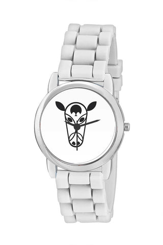 Kids Wrist Watch India | Black Bull Head Vector Kids Wrist Watch Online India