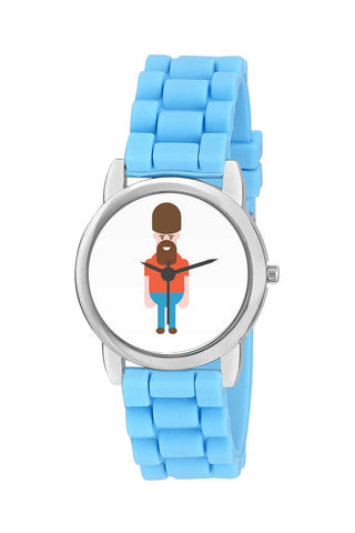 Kids Wrist Watch India | British Guard Englishman Cartooning Kids Wrist Watch Online India