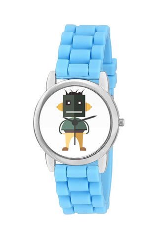Kids Wrist Watch India | Awesome Stylish Robot Character In Illustration Kids Wrist Watch Online India