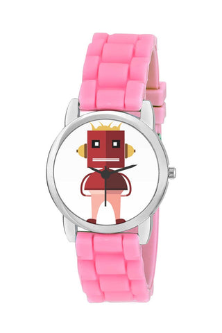 Kids Wrist Watch India | A Very Cute Standing Robot  Character  Kids Wrist Watch Online India