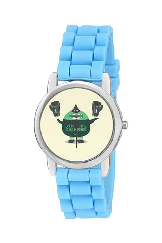 Kids Wrist Watch India | Awesome Boxing Champion Art Illustration Character Kids Wrist Watch Online India