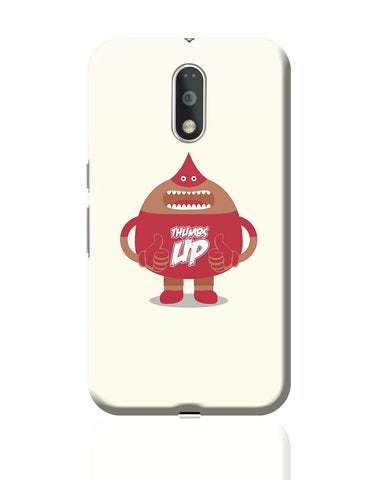 Amazing Cartoon Guy With Thumbs Up Moto G4 Plus Online India
