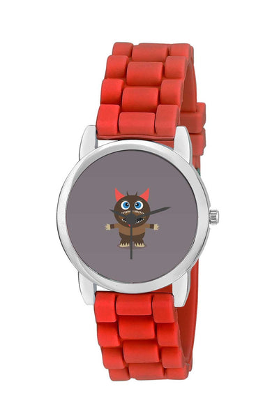 Kids Wrist Watch India | Angry Cartoon Monster Illustration Kids Wrist Watch Online India