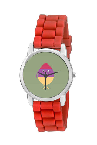 Kids Wrist Watch India |  Cool Guy Cartoon Illustration Character Kids Wrist Watch Online India