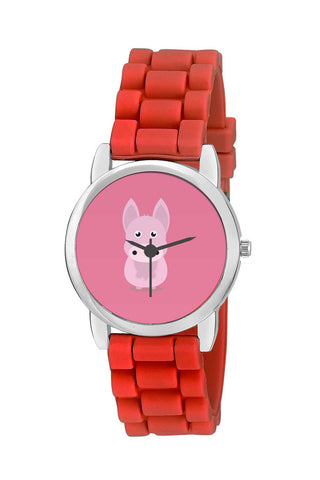Kids Wrist Watch India | Cartoon Farm Animals Vector Kids Wrist Watch Online India