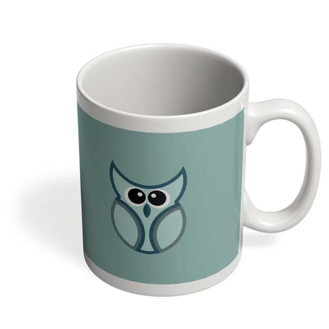Coffee Mugs Online | Cartoon Owl Bird Vector Illustration Art Mug Online India