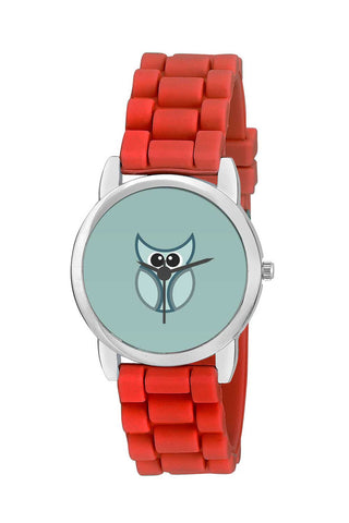 Kids Wrist Watch India | Cartoon Owl Bird Vector Illustration Art Kids Wrist Watch Online India