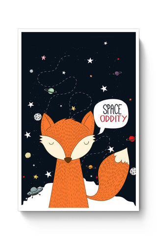 Posters Online | Space Oddity Poster Online India | Designed by: Kesari Studio