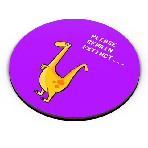 PosterGuy | Dino Cartoon (Single - Yellow) Fridge Magnet Online India by Famekrafts