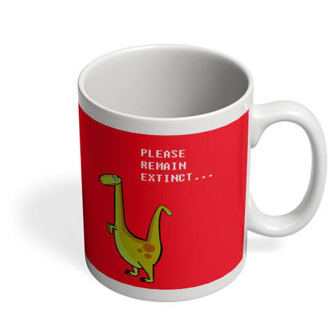 Coffee Mugs Online | Dino Cartoon (Single -Green) Mug Online India