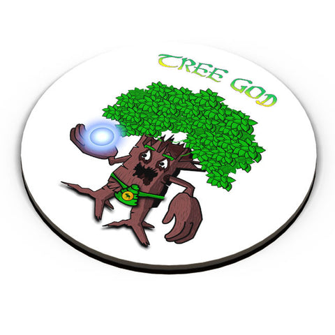 PosterGuy | Tree God (Brown) Fridge Magnet Online India by Famekrafts