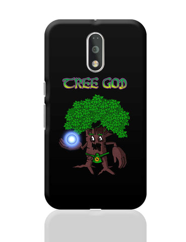 Tree God (Brown) Moto G4 Plus Online India