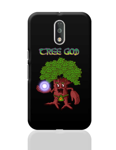 Tree God (Red) Moto G4 Plus Online India