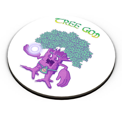 PosterGuy | Tree God (Purple) Fridge Magnet Online India by Famekrafts