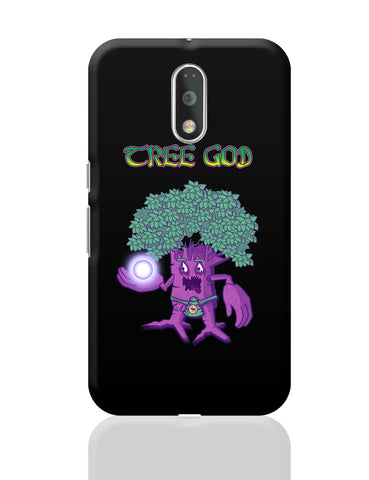 Tree God (Purple) Moto G4 Plus Online India
