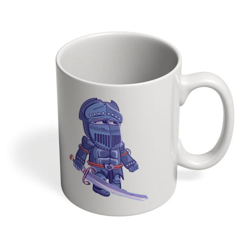 Coffee Mugs Online | Cartoon Knight(Blue) Mug Online India