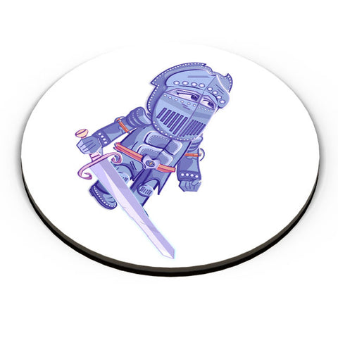 PosterGuy | Cartoon Knight(Blue) Fridge Magnet Online India by Famekrafts