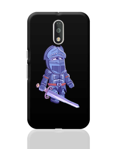 Cartoon Knight(Blue) Moto G4 Plus Online India