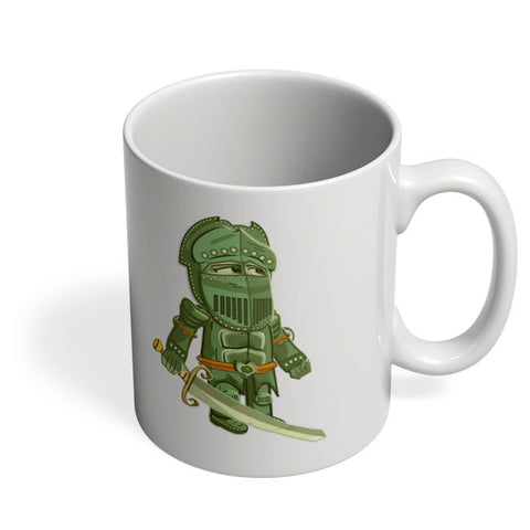 Coffee Mugs Online | Cartoon Knight (Green) Mug Online India