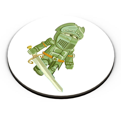 PosterGuy | Cartoon Knight (Green) Fridge Magnet Online India by Famekrafts