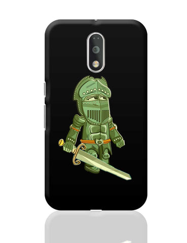 Cartoon Knight (Green) Moto G4 Plus Online India