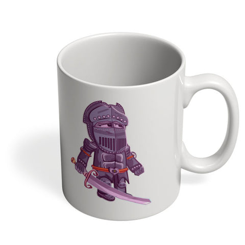 Coffee Mugs Online | Cartoon Knight (Purple) Mug Online India