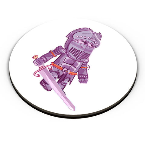 PosterGuy | Cartoon Knight (Purple) Fridge Magnet Online India by Famekrafts
